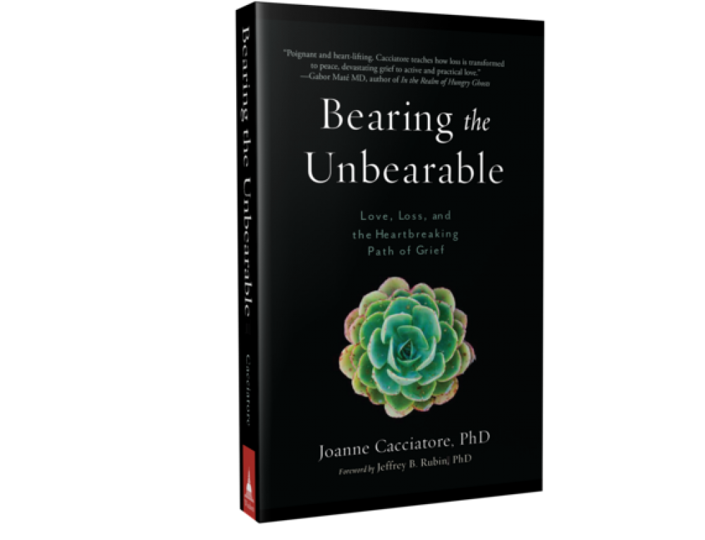 """""""Bearing the Unbearable: Love, Loss, and the Heartbreaking Path of Grief"""" by Joanne Cacciatore: Book Review"""